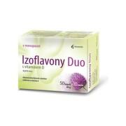 NOVENTIS Izoflavóny duo s vitamínom D 60 kapsúl