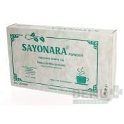 SAYONARA POWDER Japonský zelený čaj 4x25g