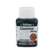 MEDPHARMA Guarana 800 mg 30 + 7 tabliet ZADARMO