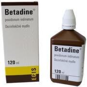 Betadine dezinfekčné mydlo 75 mg/ml liq 120ml (chirur.)