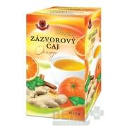 HERBEX Premium ZÁZVOROVÝ ČAJ Orange 20x2g