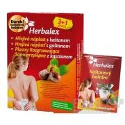 Herbalex Hrejivá náplasť s gaštanom 4ks+darcek