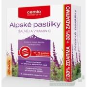 Cemio Alpské pastilky ŠALVIA A VITAMÍN C tbl 30+10