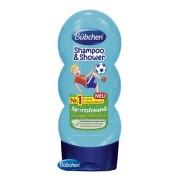 BÜBCHEN Kids šampón a sprchový gél 2v1 malý futbalista 230 ml