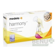 MEDELA Harmony light 2 fázová manuálna odsávačka 1ks