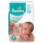 PAMPERS ProCare PREMIUM protection 0 38ks