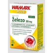 WALMARK Železo COMPLEX 20 mg (inov. obal 2019) tbl 1x30 ks tbl 30