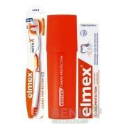ELMEX CARIES PROTECTION SADA S PÚZDROM 75 ml +  1 ks + puzdro