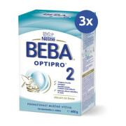 Beba optipro 2 (modra,inov.2019) 1x600 g - balenie 3 ks