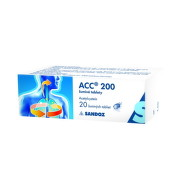 ACC LONG 600 mg 20 šumivých tabliet