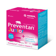 FARMAX Preventan junior s vitamínom C 90 tabliet