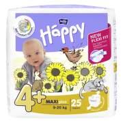 HAPPY Detské plienky 4+ maxi plus 25 kusov