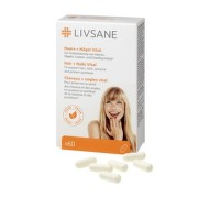 LIVSANE Podpora pre zdravé vlasy a nechty 60 kapsúl