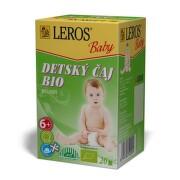 LEROS Baby detský čaj Bio bylinný 20 x 2 g