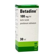 BETADINE Dezinfekčný roztok 100 mg/ml 30 ml