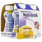 NUTRIDRINK MULTIFIBRE vanilková príchuť 4x200 ml 4x200ml