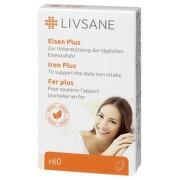 LIVSANE Železo plus s vitamínmi 60 tabliet