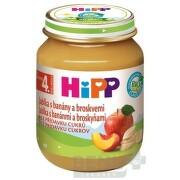 HiPP Príkrm 100% Ovocie Jablká, banány a broskyne 1x125 g