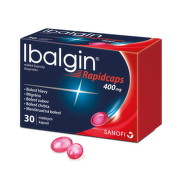 Ibalgin Rapidcaps 400 mg cps mol 30