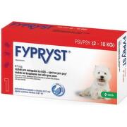 FYPRYST 67 mg PSY 2-10 KG 1x0,67ml
