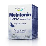 SALUTEM Melatonín rapid komplex 5 mg 30 rozpustných tabliet