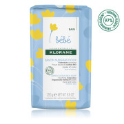KLORANE Bébé Veľmi jemné výživné mydlo 250 g