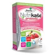 NUTRIKAŠA Probiotic s jahodami a vanilkou 3 x 60g