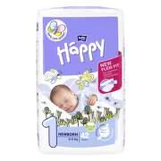 HAPPY Newborn detské plienkové nohavičky 2-5 kg 42 kusov