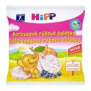 HiPP Bio oblátky čučoriedkové rýžové 30 g