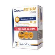DA VINCI Coenzym extra max 100 mg 30 + 15 kapsúl ZADARMO