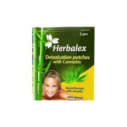HERBALEX Detoxikačné náplasti s konopou 2 kusy