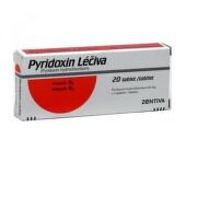 Pyridoxin Léčiva tbl 20x20mg