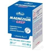VITAR Magnézium 400 mg + vitamíny B6 a C 1x20 ks