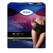 TENA Lady Pants plus noir M 9 kusov