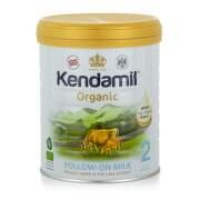 KENDAMIL BIO organické plnotučné pokračovacie mlieko 2 DHA+ 800 g