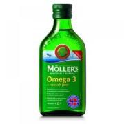 MOLLER´S Omega 3 rybí olej natur 250 ml