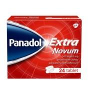 PANADOL Extra Novum 500 mg/65 mg 24 kapsúl