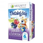 MEGAFYT Detský čaj jahoda a čučoriedka 20x2 g