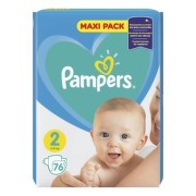 PAMPERS Baby maxi pack 2 Mini 76 kusov