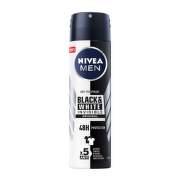 NIVEA Antiperspirant sprej pre mužov Black & White 150 ml
