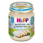 HiPP Príkrm BIO morčacie mäso pyré 125 g