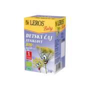 LEROS Baby detský čaj Bio feniklový 20 x 1,5 g