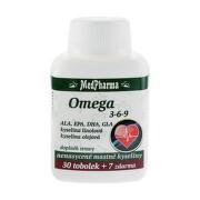 MEDPHARMA Omega 3 rybí olej forte EPA, DHA 30 + 7 kapsúl ZADARMO