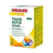 WALMARK Vápnik horčík zinok Forte 90 tabliet