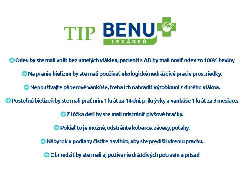 TIP-BENU ekzém